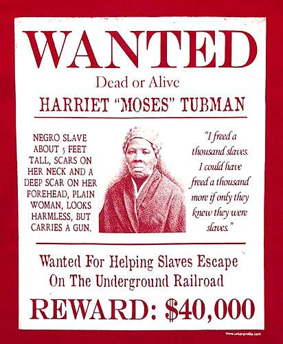 Harriet Tubman Wanted