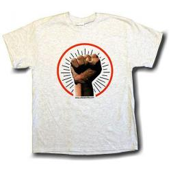 Black Power Fist - Color