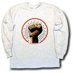 Black Power Fist - Color - Long Sleeve